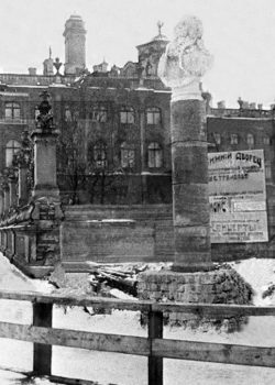 Памятник в Петрограде